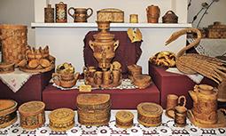 Кострома - музей Льна и бересты