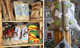 Мышкин - музей Русские Валенки