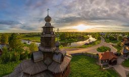 Суздаль - Музей Деревянного зодчества 3