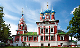 Углич - Церковь Дмитрия на Крови