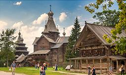 Великий Новгород - Музея Деревянного Зодчества Витославлицы