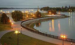 Ярославль - Стрелка реки Волги
